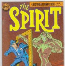 Cómics: THE SPIRIT - BY WILL EISNER - 4 HISTORIAS COMPLETAS - NÚMERO 6 - PERFECTO ESTADO. Lote 181948597