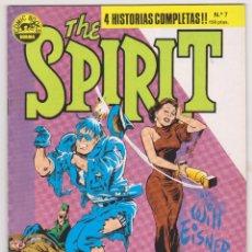 Cómics: THE SPIRIT - BY WILL EISNER - 4 HISTORIAS COMPLETAS - NÚMERO 7 - PERFECTO ESTADO. Lote 181949908