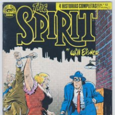 Cómics: THE SPIRIT - BY WILL EISNER - 4 HISTORIAS COMPLETAS - NÚMERO 12 - PERFECTO ESTADO. Lote 181951740