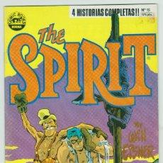 Cómics: THE SPIRIT - BY WILL EISNER - 4 HISTORIAS COMPLETAS - NÚMERO 15 - PERFECTO ESTADO. Lote 181952848