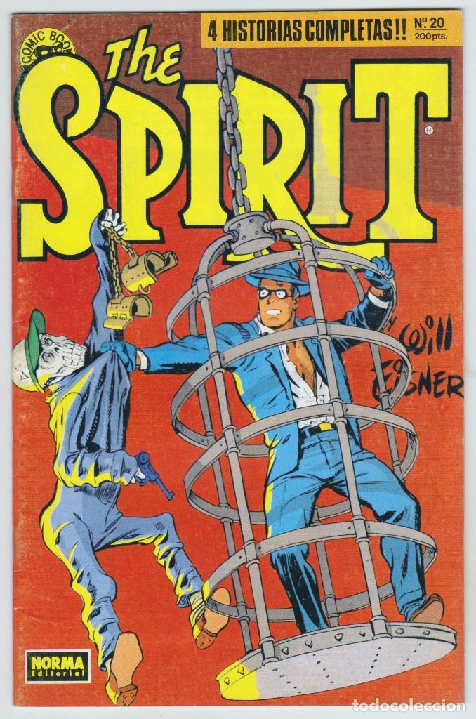 THE SPIRIT - BY WILL EISNER - 4 HISTORIAS COMPLETAS - NÚMERO 20 - MUY BUEN ESTADO (Tebeos y Comics - Norma - Comic USA)