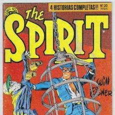 Cómics: THE SPIRIT - BY WILL EISNER - 4 HISTORIAS COMPLETAS - NÚMERO 20 - MUY BUEN ESTADO. Lote 181954798