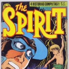 Cómics: THE SPIRIT - BY WILL EISNER - 4 HISTORIAS COMPLETAS - NÚMERO 21 - PERFECTO ESTADO. Lote 181955112