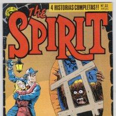 Cómics: THE SPIRIT - BY WILL EISNER - 4 HISTORIAS COMPLETAS - NÚMERO 22 - PERFECTO ESTADO. Lote 181955265