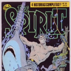 Cómics: THE SPIRIT - BY WILL EISNER - 4 HISTORIAS COMPLETAS - NÚMERO 23 - PERFECTO ESTADO. Lote 181955540