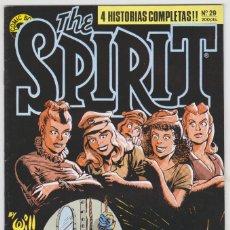 Cómics: THE SPIRIT - BY WILL EISNER - 4 HISTORIAS COMPLETAS - NÚMERO 29 - PERFECTO ESTADO. Lote 181957183