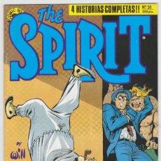 Cómics: THE SPIRIT - BY WILL EISNER - 4 HISTORIAS COMPLETAS - NÚMERO 31 - PERFECTO ESTADO. Lote 181957752