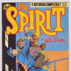 Cómics: THE SPIRIT - BY WILL EISNER - 4 HISTORIAS COMPLETAS - NÚMERO 33 - PERFECTO ESTADO. Lote 181958100