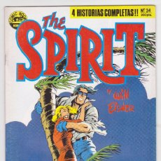 Cómics: THE SPIRIT - BY WILL EISNER - 4 HISTORIAS COMPLETAS - NÚMERO 34 - PERFECTO ESTADO. Lote 181958281