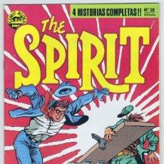 Cómics: THE SPIRIT - BY WILL EISNER - 4 HISTORIAS COMPLETAS - NÚMERO 38 - PERFECTO ESTADO. Lote 181959102