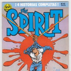 Cómics: THE SPIRIT - BY WILL EISNER - 4 HISTORIAS COMPLETAS - NÚMERO 42 - PERFECTO ESTADO. Lote 181959882