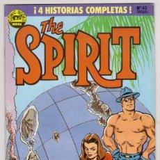 Cómics: THE SPIRIT - BY WILL EISNER - 4 HISTORIAS COMPLETAS - NÚMERO 43 - PERFECTO ESTADO. Lote 181960042