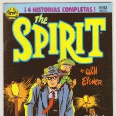 Cómics: THE SPIRIT - BY WILL EISNER - 4 HISTORIAS COMPLETAS - NÚMERO 53 - PERFECTO ESTADO. Lote 181999322