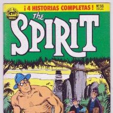 Cómics: THE SPIRIT - BY WILL EISNER - 4 HISTORIAS COMPLETAS - NÚMERO 55 - PERFECTO ESTADO. Lote 181999916