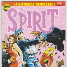 Cómics: THE SPIRIT - BY WILL EISNER - 4 HISTORIAS COMPLETAS - NÚMERO 56 - PERFECTO ESTADO. Lote 182000242