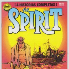 Cómics: THE SPIRIT - BY WILL EISNER - 4 HISTORIAS COMPLETAS - NÚMERO 62 - PERFECTO ESTADO. Lote 182001693