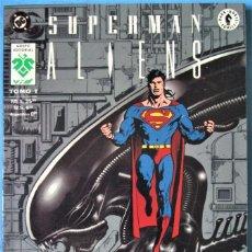 Comics: SUPERMAN - TOMO 1 - ALIENS - EDICIÓN DE COLECCIÓN - DC VID 1994 - ''MUY BUEN ESTADO''. Lote 182035948