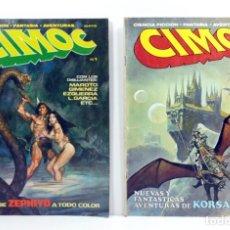 Cómics: CIMOC NUM. 1 - AÑO 1979 - CIMOC NUM. 2 - AÑO 1979. Lote 182058847
