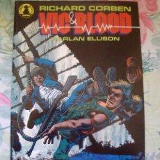 Cómics: RICHARD CORBEN VIC & BLOOD HARLAN ELLISON Nº 1 Y 2 COMPLETA LAS CRONICAS DE UN MUCHACHO Y SU PERRO. Lote 182315876