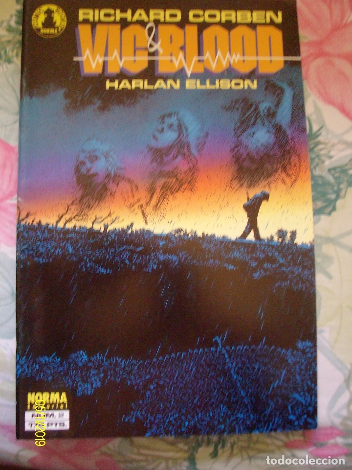 Cómics: RICHARD CORBEN VIC & BLOOD HARLAN ELLISON Nº 1 Y 2 COMPLETA LAS CRONICAS DE UN MUCHACHO Y SU PERRO - Foto 2 - 182315876