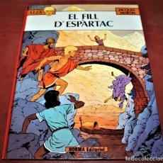 Cómics: ÀLIX - EL FILL D'ESPARTAC - JACQUES MARTIN - NORMA - 1983 - EN CATALÁN. Lote 182726895