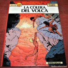 Cómics: ÀLIX - LA CÒLERA DEL VOLCÀ - JACQUES MARTIN - NORMA - 1984 - EN CATALÁN. Lote 182727032