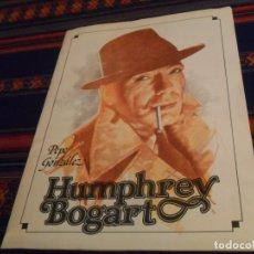 Cómics: PEPE GONZÁLEZ HUMPHREY BOGART PORTAFOLIO COMPLETO 6 LÁMINAS. NORMA 1982. 45X33 CMS. BUEN ESTADO.. Lote 182826762