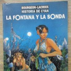 Cómics: CIMOC EXTRA COLOR Nº 117 - LA FONTANA Y LA SONDA - BOURGEON - LACROIX. Lote 182883090
