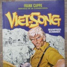 Cómics: CIMOC COLOR Nº 57 - VIET SONG - FRANK CAPPA - NORMA. Lote 182948046