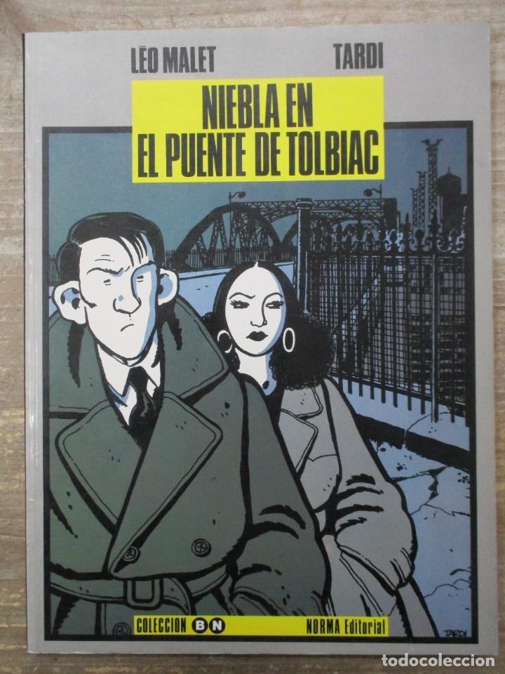 COLECCION B/N - NIEBLA EN EL PUENTE DE TOLBIAC - TARDI / LEO MALET - NORMA (Tebeos y Comics - Norma - Comic Europeo)