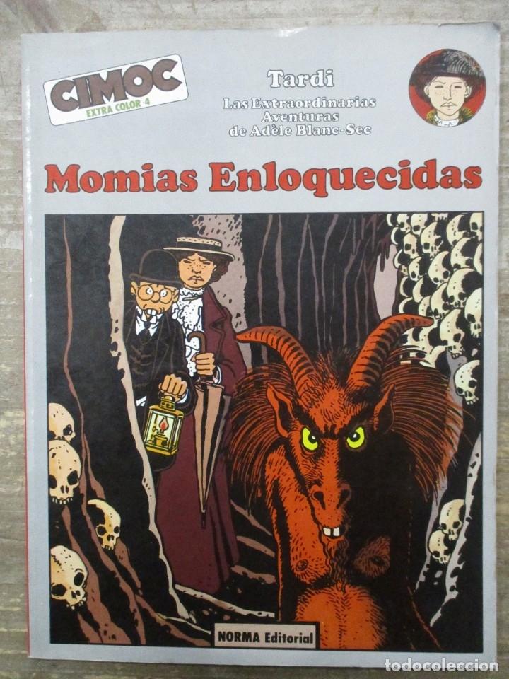 CIMOC COLOR - Nº 4 - MOMIAS ENLOQUECIDAS - TARDI - NORMA (Tebeos y Comics - Norma - Comic Europeo)