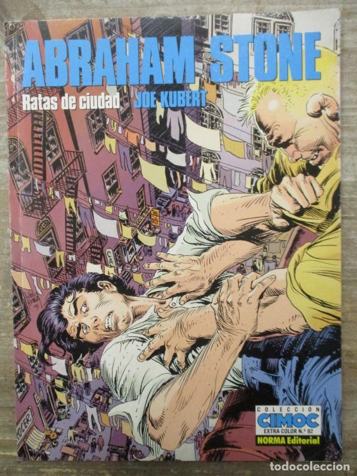 CIMOC COLOR - Nº 92 - ABRAHAM STONE - JOE KUBERT - NORMA (Tebeos y Comics - Norma - Comic Europeo)