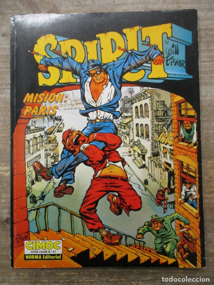 CIMOC COLOR Nº 43 - SPIRIT - MISION PARIS - NORMA (Tebeos y Comics - Norma - Comic Europeo)