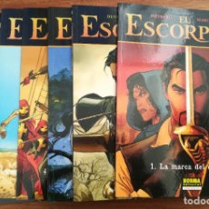 Cómics: EL ESCORPIÓN. DESBERG/MARINI. TOMOS 1 AL 7. NORMA EDITORIAL. Lote 183042892