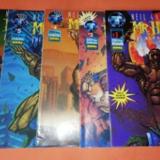 Cómics: NEIL GAIMAN,S MR. HERO. Nº 1,3,4,5 Y Nº 6 . GRAPA. Lote 178212661