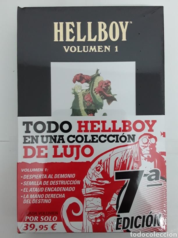 HELLBOY. EDICIÓN INTEGRAL DE LUJO VOL. 1 - MIKE MIGNOLA - NORMA EDITORIAL (Tebeos y Comics - Norma - Comic USA)