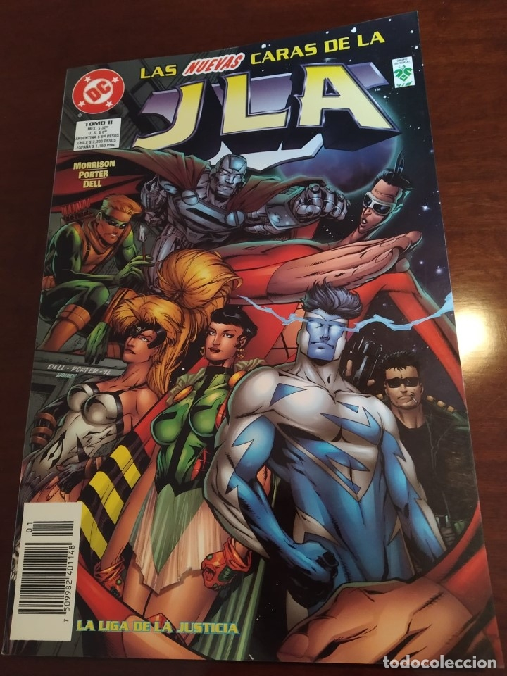 JLA TOMO 2 - EDITORIAL VID (Tebeos y Comics - Norma - Comic USA)