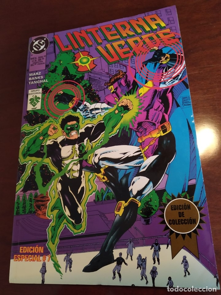 LINTERNA VERDE Nº 7 - EDITORIAL VID (Tebeos y Comics - Norma - Comic USA)