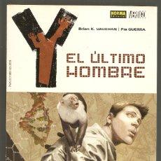 Cómics: Y EL ÚLTIMO HOMBRE - EMASCULADOS - BRIAN K. VAUGHAN, PÍA GUERRA - NORMA EDITORIAL. Lote 183203875