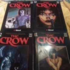 Cómics: SAGA COMPLETA THE CROW - EDICIONES GLENAT 1995.. Lote 183237271