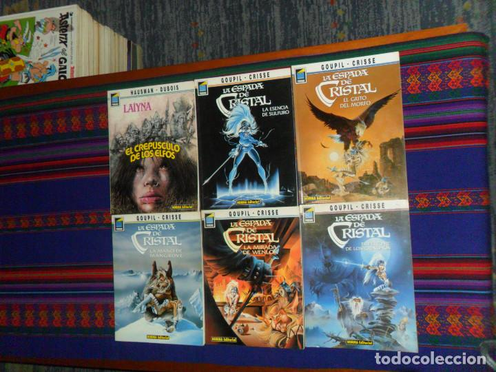 PANDORA LA ESPADA DE CRISTAL NºS 25 30 36 39 53 COMPLETA. NORMA 1991. REGALO LAÏYNA 1 Nº 31. BE. (Tebeos y Comics - Norma - Otros)