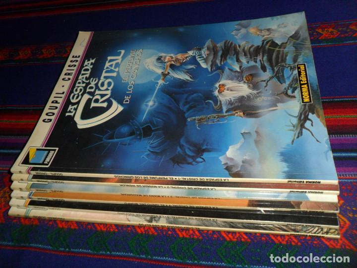 Cómics: PANDORA LA ESPADA DE CRISTAL NºS 25 30 36 39 53 COMPLETA. NORMA 1991. REGALO LAÏYNA 1 Nº 31. BE. - Foto 2 - 183360900