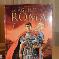 Cómics: CÓMIC * LAS ÁGUILAS DE ROMA* LIBRO II, NORMA EDITORIAL. ENRICO MARINI. CARTONÉ. 2010. INF. 3 FOTOS. Lote 183363721