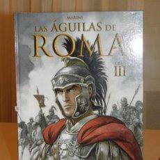 Cómics: CÓMIC * LAS ÁGUILAS DE ROMA* LIBRO III, NORMA EDITORIAL. ENRICO MARINI. CARTONÉ. 2012. INF. 4 FOTOS. Lote 183363946