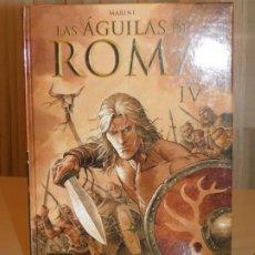 Cómics: CÓMIC * LAS ÁGUILAS DE ROMA* LIBRO IV, NORMA EDITORIAL. ENRICO MARINI. CARTONÉ. 2014. INF. 4 FOTOS. Lote 183364955