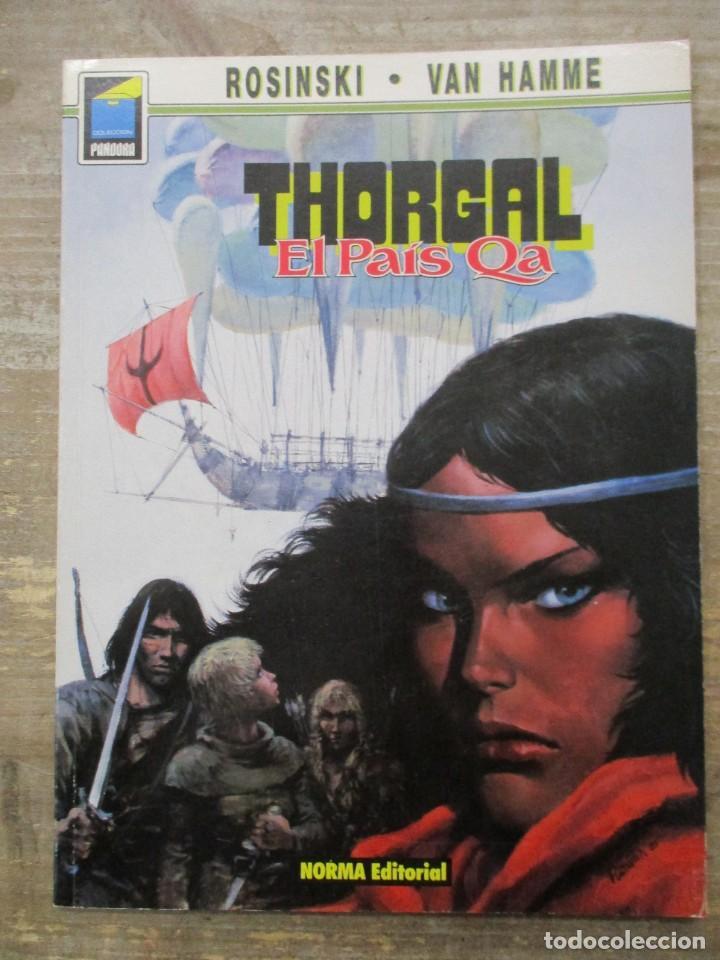 THORGAL - COLECCION PANDORA - EL PAIS QA - ROSINSKI - VAN HAMME - NORMA EDITORIAL (Tebeos y Comics - Norma - Comic Europeo)