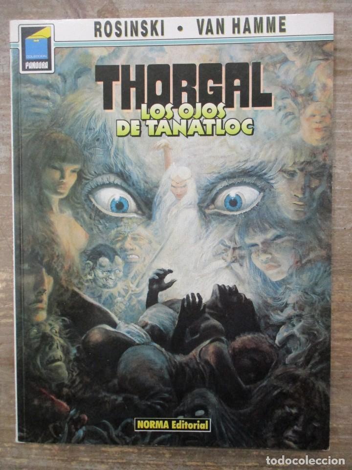 THORGAL - COLECCION PANDORA - Nº 9 - LOS OJOS DE TANATLOC - ROSINSKI-VAN HAMME - NORMA EDITORIAL (Tebeos y Comics - Norma - Comic Europeo)