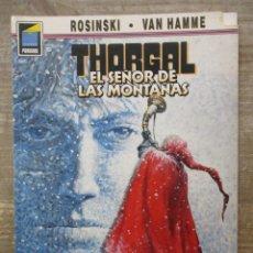 Cómics: THORGAL - COLECCION PANDORA - EL SEÑOR DE LAS MONTAÑAS - ROSINSKI-VAN HAMME - NORMA EDITORIAL . Lote 183366373