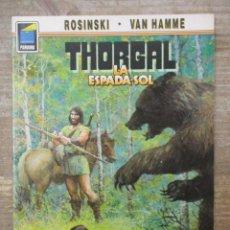 Cómics: THORGAL - COLECCION PANDORA - LA ESPADA SOL - ROSINSKI-VAN HAMME - NORMA EDITORIAL . Lote 183366411