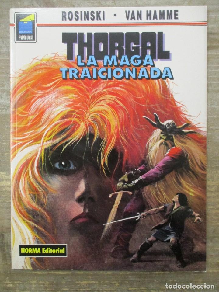 THORGAL - COLECCION PANDORA - LA MAGA TRAICIONADA - ROSINSKI-VAN HAMME - NORMA EDITORIAL (Tebeos y Comics - Norma - Comic Europeo)
